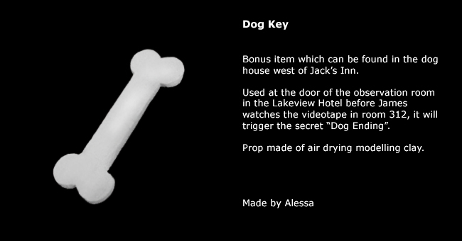 Silent Hill  Dog Key